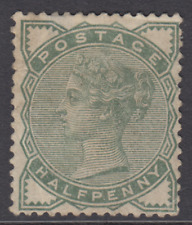 QV GB SG164 ½d Deep Green - Mounted Mint M/M - Victorian Surface printed