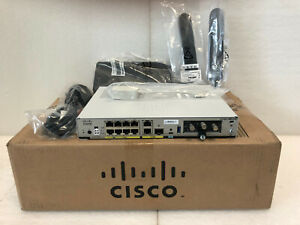 New Cisco C1161-8LTEP Integrated Services Router 8GB 8 LAN GE Ports + 2 GE WAN