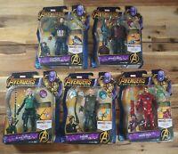 "Marvel Avengers Infinity War 6"" Hasbro Action Figures Rare Complete Set BNIB!"