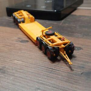 Kibri 1:87 Schwerlastanhänger orange zustand siehe Fotos
