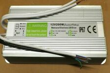 DC12v 200w waterproof IP67 electronic led driver power supply transformer