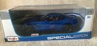 Maisto Special Edition Diecast 1/18 2014 Corvette Stingray Z51 BLUE NIB!