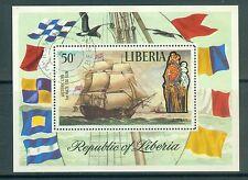Liberia Block 62 , o , Motiv Schiffe