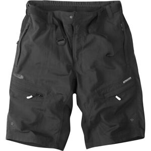 Madison Trail gents Padded mountain bike, riding, cycling baggy shorts. Black