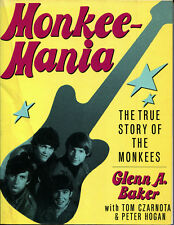 MONKEES Book Monkeemania: The True Story of the Monkees (Glenn A. Baker,USA'86)