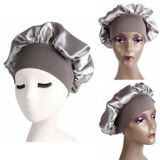 Bonnet Hair Loss Chemo Night Sleep Hat Elastic Head Wraps Wide Band Satin Cap