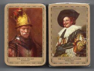 #N.016 Vintage Swap / Playing Card SEALED DECK, MINIATURE, Old Masters, 1980's