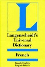 Langenscheidt's Universal Dictionary: French English English French