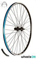700c wheelsON  Rear Wheel 8/9/10 Speed Shimano HB FH T3000 Hub Black 36H QR
