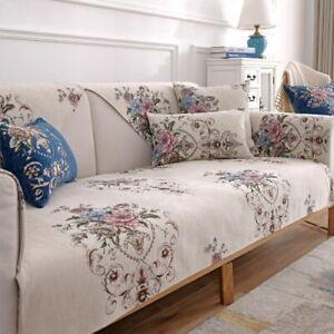 Light Luxury Chenille Sofa Cushion Universal Non-slip Sofa Cushion Cover Towel