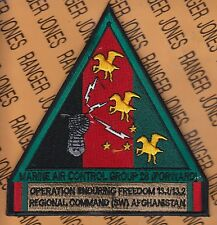 USMC Marine Corps Air Control Group MACG 28 Forward OEF RC 5 inch patch