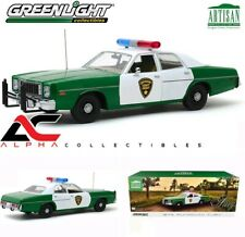 GREENLIGHT 19076 1:18 1975 PLYMOUTH FURY CHICKASAW COUNTY SHERIFF