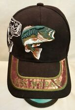 KISS MY BASS Baseball Cap Hat Embroidered Bass One Size Fits All