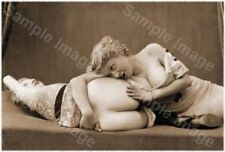 Vintage 112 1920's Erotic Female Nude Sepia Retro Art PHOTO REPRINT A4 A3 or A2