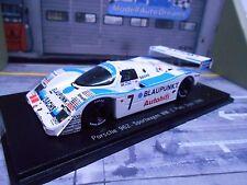 Porsche 962c 962 C Dijon Coupe du monde 1989 #7 Blaupunkt wollek win Joest 1/300 spark 1:43