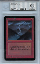 MTG Alpha Lightning Bolt BGS 8.5 NM-MT+ Card 1993 WOTC 5081
