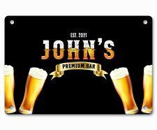 Personalised Bar Sign Any Name Garden Plaque Gift Bar Pub Backyard Bar Sign 255