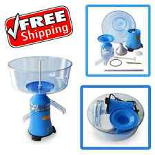 NEW MILK CREAM SKIMMER ELECTRIC CENTRIFUGAL SEPARATOR UP TO 100 L/H MOTOR SICH