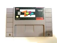 ZOOP - SNES Super Nintendo Game - Tested - Working - Authentic!
