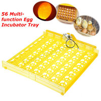 56 Eggs Tray For Poultry Chicken Incubator  Turner Temperature