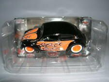 Maisto Harley-Davidson Customs VW Volkswagen Beetle Black Orange, 1:64