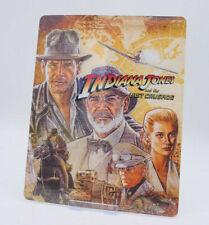 INDIANA JONES Last Crusade Glossy Bluray Steelbook Magnet Cover (NOT LENTICULAR)