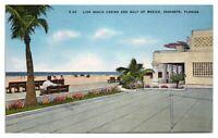 Lido Beach Casino and Gulf of Mexico, Sarasota, FL Postcard *253