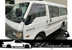 2000+ Ford Econovan/Mazda Bongo & Eseries LWB(NOT SWB)Van monsoon Weathershields