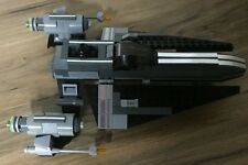 """Custom Lego Star Wars Red Rodian """"Gavin the Red"""" with Custom Fighter"""