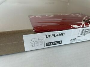 Ikea UPPLAND Cover for armchair COVER ONLY, virestad red/white - NEW
