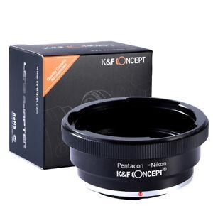 K&F Concept Kiev 60-AI Adapter Ring for Kiev 60 Pentacon 6 P6 Lens to Nikon AI F