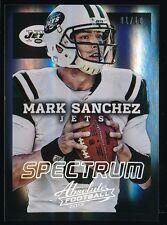 MARK SANCHEZ 2013 PANINI ABS. SPECTRUM REFRACTORS 01/10 *PHILADELPHIA EAGLES*