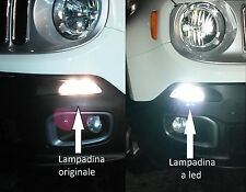 LAMPADINE bay15d DIURNE-POSIZIONE LED NO ERROR by SIMONI RACING JEEP RENEGADE