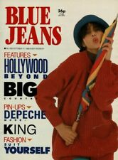 More details for blue jeans magazine 11 october 1986  depeche mode  hollywood beyond  paul king