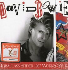 DAVID BOWIE - THE GLASS SPIDER 1987 WORLD TOUR - 11CD+1DVD BOX-SET N°175/350 NEW