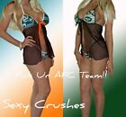 NFL Lingerie SEXY Babydoll Set - Pick Ur AFC Team -Top and G-String Panty!!