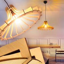 Lampe à suspension Plafonnier Retro Lustre Design Lampe de cuisine Bois 163014
