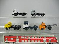 AF377-0,5 #5x wiking H0 Autocarro/Trattore: Volvo +Scania +Mercedes-benz MB