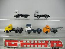 AF377-0,5# 5x Wiking H0 LKW/Zugmaschine: Volvo+Scania+Mercedes-Benz MB