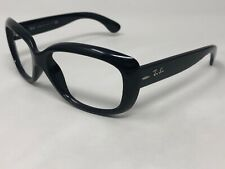 RAY-BAN JACKIE OHH Sunglasses Frame Italy RB4101 601 Black Polished XN31