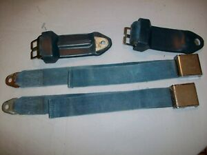 1966 DODGE Coronet Charger 66 PLYMOUTH Satellite Belvedere FRONT SEAT BELT LOT