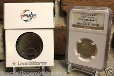 Single Slab Certified Coin Box Lighthouse Intercept Technology ANTI-TARNISH Case