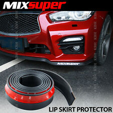 MIXSUPER Rubber Front Bumper Lip Valance Splitter Chin Spoiler Skirt Protector m