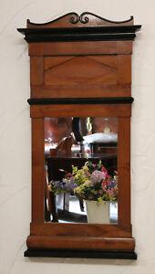 Spiegel Wandspiegel Esche 150 Jahre alt Biedermeier