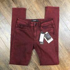 *BNWT* ICHI Maroon Pants | Skinny Jeans Denim ((size 28)) NEW