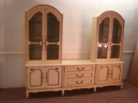 John Stewart Mt. Airy French Provincial Style China Buffet
