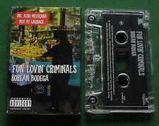 Fun Lovin' Criminals Korean Bodega + Garbage Mix Cassette Tape Single - TESTED