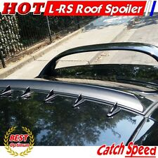 Flat Black LRS Type Rear Roof Spoiler Wing For Honda Civic 2006- 2011 2D Coupe ♘