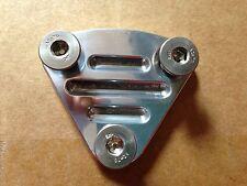 Datsun 240Z 260Z 240K 260C 280ZX 1600 L4 L6 New Polished Fuel Pump Block Plate