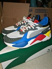 NEW Men's Puma RS-X TOYS Casual Lifestyle Sneakers Rare HTF 369449 02 Size 12
